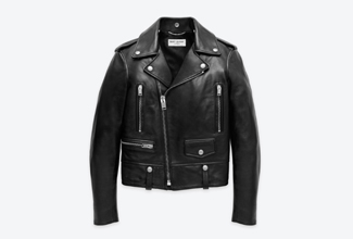sain* laurent biker jk